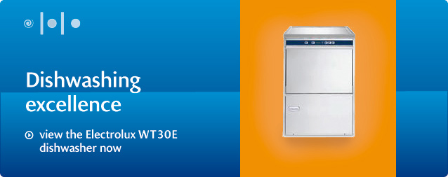 view the Electrolux WT30E dishwasher now
